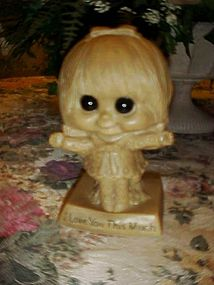 Berries Sillisculpt big eyes figure I love you this....