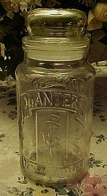 Planters Peanut's 75th Anniversary Glass canister jar