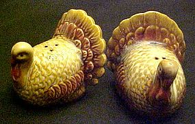 Better Homes  ceramic Turkey salt and pepper shakers