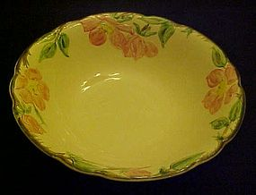 "Franciscan Desert Rose 9"" vegetable serving bowl"
