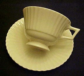 Lenox China USA Temple cup and matching saucer