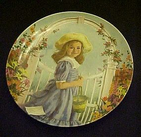 RECO A Tisket A tasket  plate by John McClelland