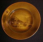 Ridgeways Royal Vistas Ware Famous Paintings plate