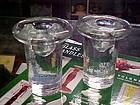 Blenko 877L crystal candle holders