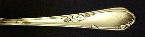 Wm A Rogers Oneida Meadowbrook  Heather sugar spoon