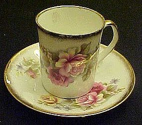 Elizabethan England bone china cup and saucer ROSES