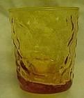 Anchor Hocking Milano Lido honey gold 7 oz flat tumbler