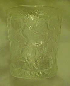 Anchor Hocking Milano Lido clear 7 oz flat tumbler