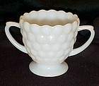 Anchor Hocking Bubble sugar bowl milkglass