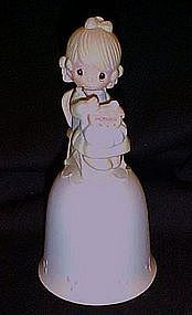 Precious Moments  Mother Sew Dear porcelain bell