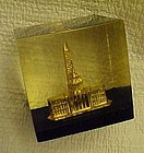 Vintage Capsco Washington DC paperweight