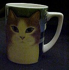 Dept 56 Martin Leman Cats Away coffee mug