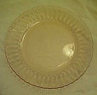 Forte crisa Mexico pink glass salad plates 7""
