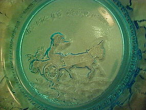 Tiara aqua nursery rhyme plate Pig went to market