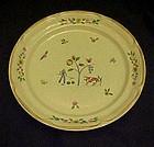 International Heartland pattern salad plate