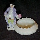 1920's Germany  Colonial courting Man salt dip  cellar