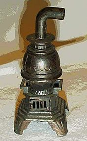 Durham metal pot belly stove pencil sharpener