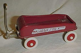 Radio Flyer Streak o lite miniature red wagon