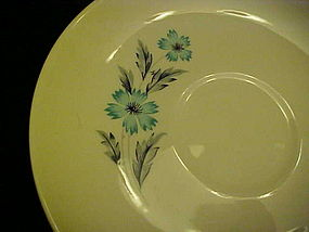 Taylor Smith Taylor Ever Yours Blue Bonnet saucer