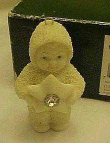 Dept 56 Snowbabies Starshine ornament 2000 boxed