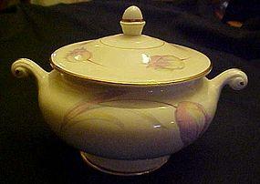 HLC Homer Laughlin Eggshell Nautilus Tulip sugar bowl