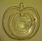 Hazel Atlas Orchard Apple plate with  cup and saucer