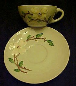 Orchard Ware dogwood cup and saucer