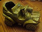 McCoy green Jalopy car planter