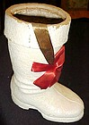 Vintage  Kentucky Tavern  Christmas Santa Boot