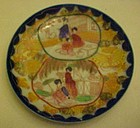 Vintage Geisha Girl ware  2 scenes Parasol and lesson