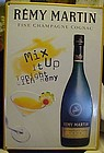 Remy Martin Champagne Cognac tin advertising sign 2000