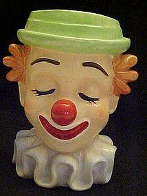 Vintage Inarco Bozo the clown head vase E 2320
