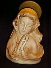 Vintage Madonna head vase Japan