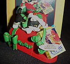 1994 Enesco Purina Kitten Chow The Latest Mews ornament