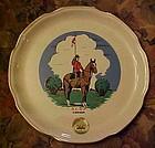 Vintage Souvenir R.C.M.P.  Canada souvenir plate