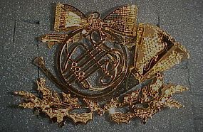 Danbury Mint French Horn  annual ornament 1997