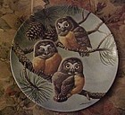 Knowles Forty Winks Saw-Whet Owls 2nd plate