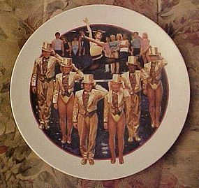 Avon Images of Hollywood plate A Chorus line