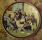 Norman Rockwell The Story Hour 6th plate Classic