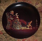 Norman Rockwell Evening's Repose 8th issue plate