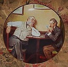 Norman Rockwell Best Friends fourth issue plate