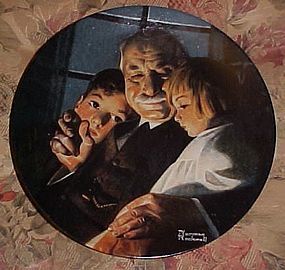 Norman Rockwell bedtime Story Heritage series