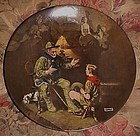 Norman Rockwell The Old Scout Heritage series plate