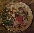Avon Christmas plate1989 Together for Christmas