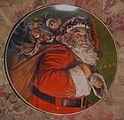 Avon Christmas Plate 1987 The Magic That Santa Brings