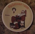 Norman Rockwell 2000 plate The day after Christmas