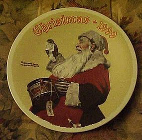 Norman Rockwell A Drum For Tommy 1999 plate