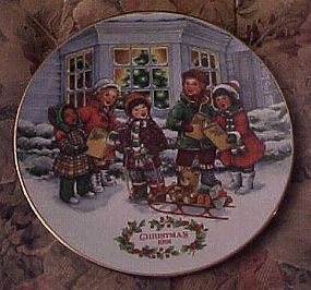 Avon Christmas1991 plate Perfect Harmony