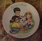 Avon Mothers Day 1981 Loving is caring plate