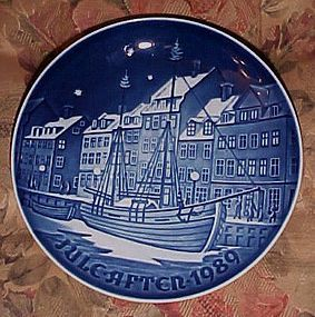 Bing Grondahl Christmas Anchorage 1989 plate